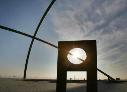 Horizontobservatorium im Landschaftspark Hoheward