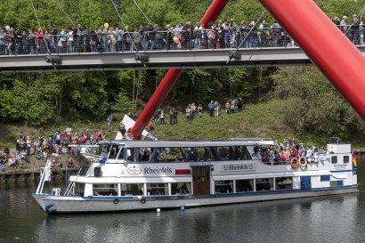 KanalErwachen mit Schiffsparade KulturKanal  Darstellung 7