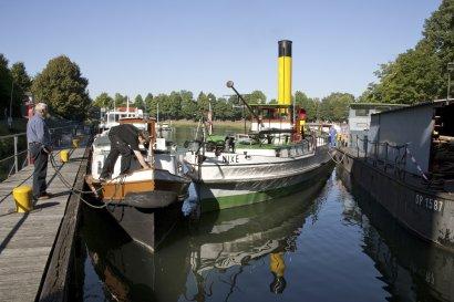 3. KanalErwachen 2021: Museumsfest im LWL- Industriemuseum Schiffshebewerk Henrichenburg Waltrop Darstellung 2