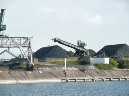 Duisburger Hafen Darstellung 2