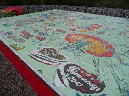 Kirmissage-Decke (Picknickplatz) Darstellung 2