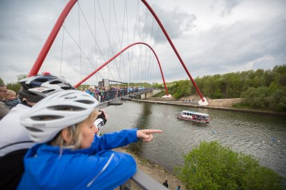 abgesagt_3. KanalErwachen 2020: ADFC Radtour ab Oberhausen zur Schiffsparade