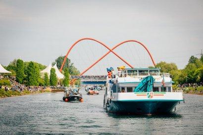 KanalErwachen mit Schiffsparade KulturKanal  Darstellung 27