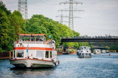 KanalErwachen mit Schiffsparade KulturKanal  Darstellung 31