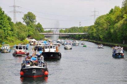 3. KanalErwachen mit 7. Schiffsparade KulturKanal