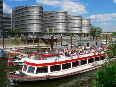 Hafenrundfahrt auf der MS Duisburg durch den Hafen Duisburg