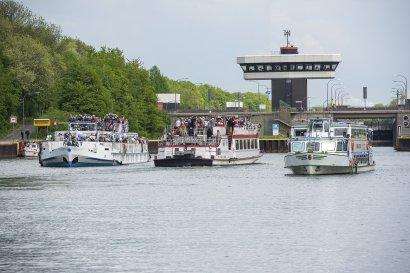 KanalErwachen mit Schiffsparade KulturKanal  Darstellung 4