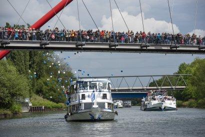 KanalErwachen mit Schiffsparade KulturKanal