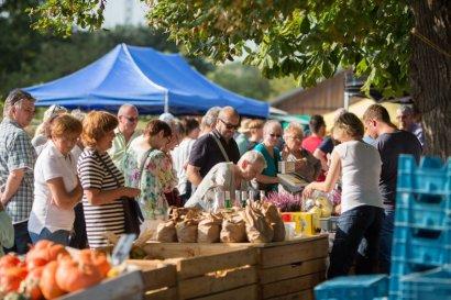 Genussmarkt 2021 am Haus Ripshorst in Oberhausen