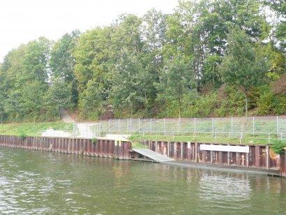 Paddeleinstieg Rudergemeinschaft Bottrop e.V. Darstellung 2