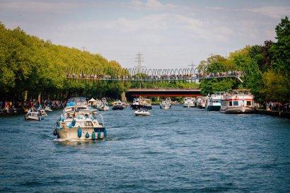 3. KanalErwachen 2021: Begrüßung Schiffsparade im Kaisergarten Oberhausen