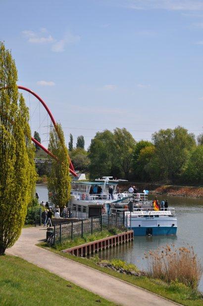KanalErwachen mit Schiffsparade KulturKanal  Darstellung 17