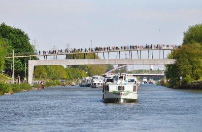 KanalErwachen mit Schiffsparade KulturKanal  Darstellung 21