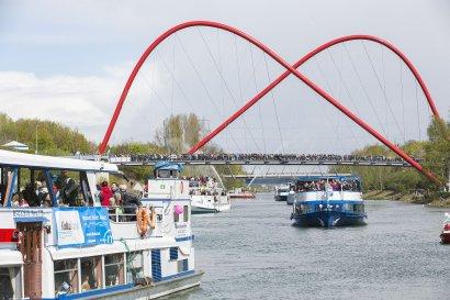 KanalErwachen mit Schiffsparade KulturKanal  Darstellung 10